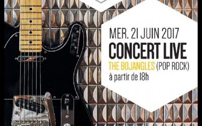 The Bojangles en Live à La Ruche