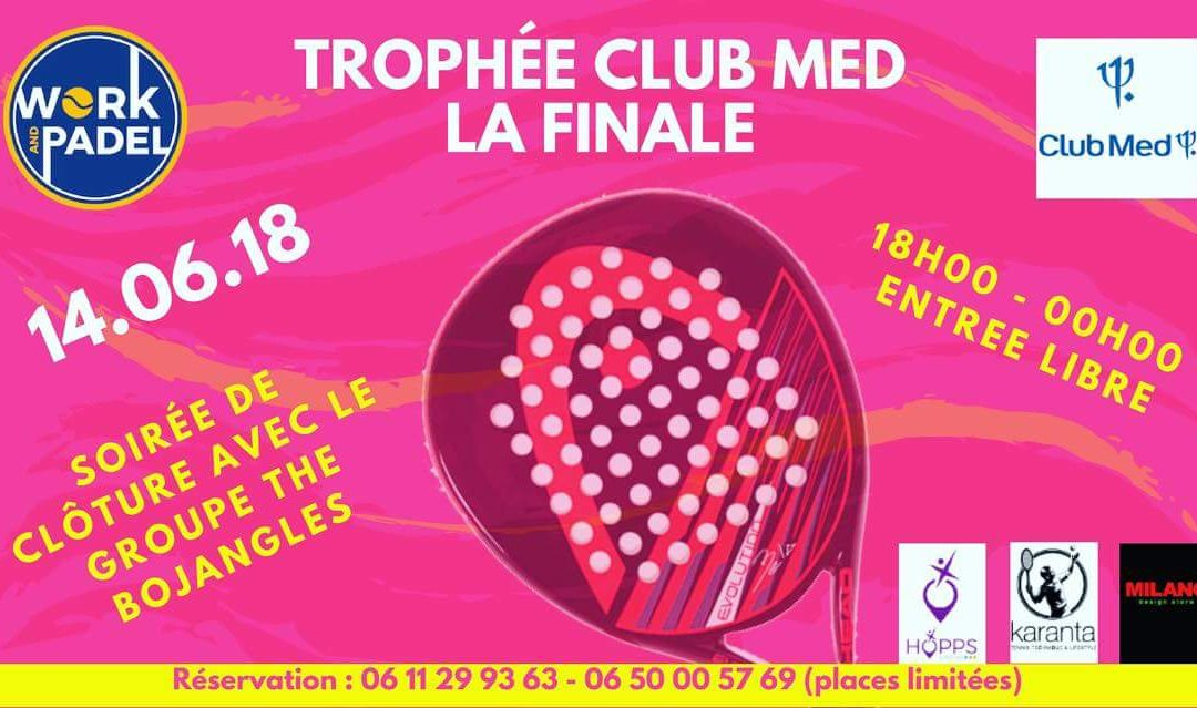 The Bojangles au trophée Club Med